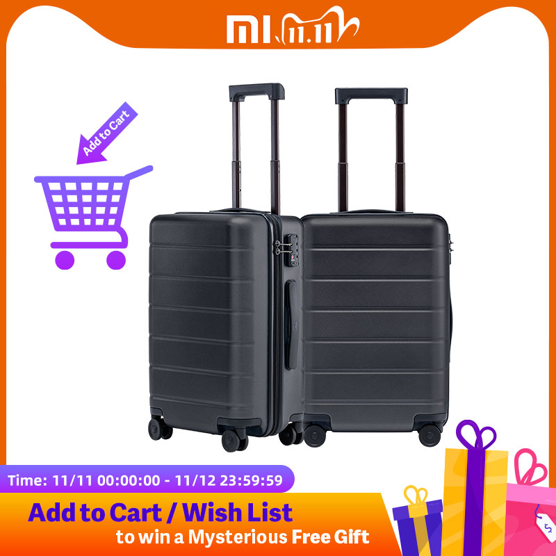 Xiaomi Luggage Classic 20 inch MI Suitcase Carry On Universal Wheel TSA Lock Password Travel Business For Men Women|Carry-Ons| - AliExpress