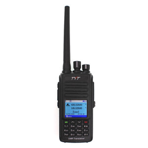 Image 2 - IP67 Waterproof MD UV390 DMR Walkie Talkie Dual Band UHF VHF 136 174 400 480MHz Dual Time Dlot Transceiver Digital Two Way Radio
