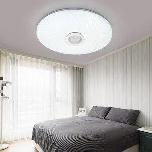 Image 4 - Đèn LED Thông Minh Ứng Dụng + Điều Khiển Từ Xa Bluetooth RGB Mờ Âm Trần Bảng Điều Khiển Đèn Loundspeaker Cầu Thủ Ngủ Trẻ Em