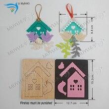 House card wooden die cut accessories  Regola Acciaio Die Misura MY8443