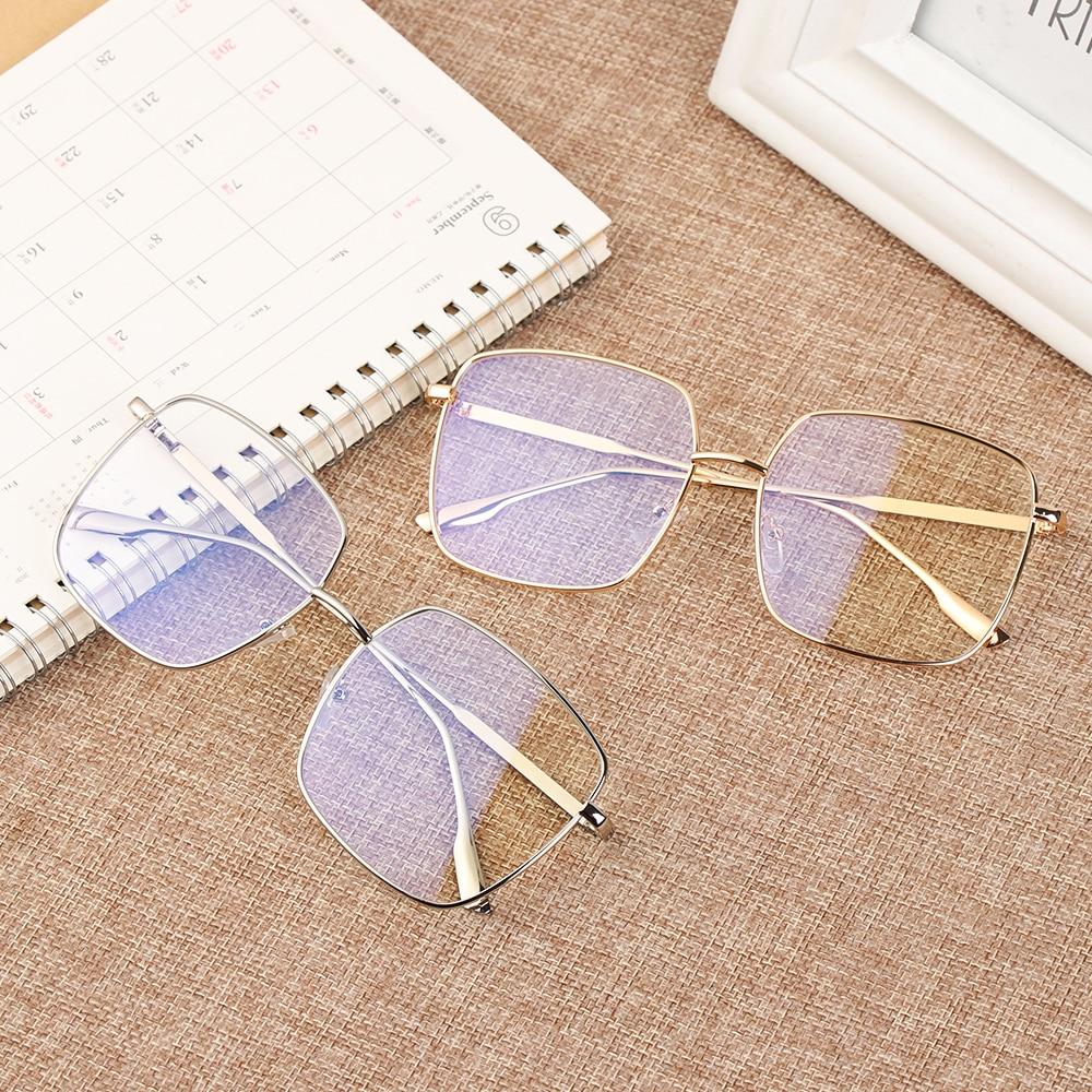 Square Clear Glasses Women Oversized Eyewear Spectacle Frames Transparent Oculos Eyeglasses Fake Glasses Korean Fashion 2019 New