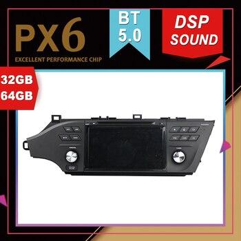 PX6 excelente rendimiento Android 9,0 coche Multimedia GPS para TOYOTA Avalon 2015-2016 DSP sonido navegación cinta grabadora Radio