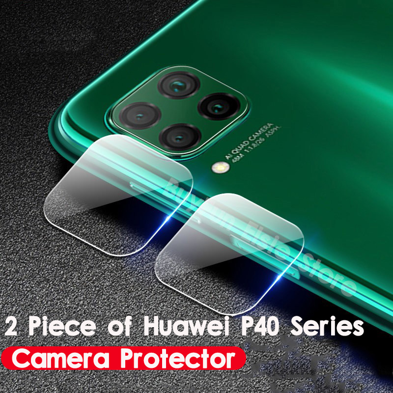 2PCS/lot For Huawei P40 Lite Back Camera Lens Film Protector Glass For Huawei P40 Pro P40Lite Lite Light Protective Glass Films