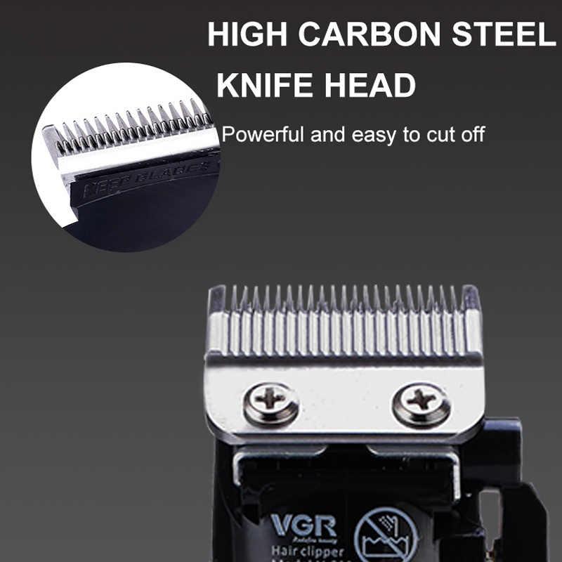 VGR afeitadora profesional potente, cortadora de barba eléctrica para hombres, cortadora de pelo, máquina cortadora de pelo, corte de pelo, Barbero, maquinilla de afeitar