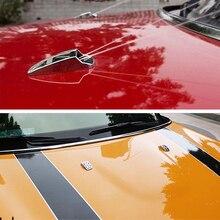 Car Windshield Water Spray Wiper Nozzle Covers Set For Mini Cooper R56 R60 R61