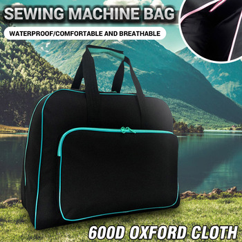 Multifunctional Sewing Machine Bag Travel Portable Storage Bag Carry Case With Pocket Waterproof Tote Bags Sewing Tools HandBags