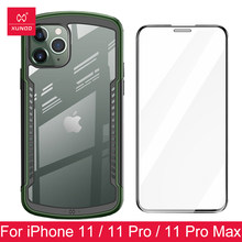 Shookproof Case Voor Iphone 11 Pro Max Transparant Bumper Airbag Ademend Vent Game Case Beschermhoes(China)