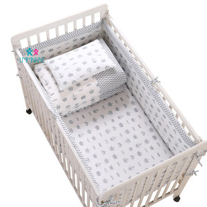 Breathable Cotton Crib Bed Bum