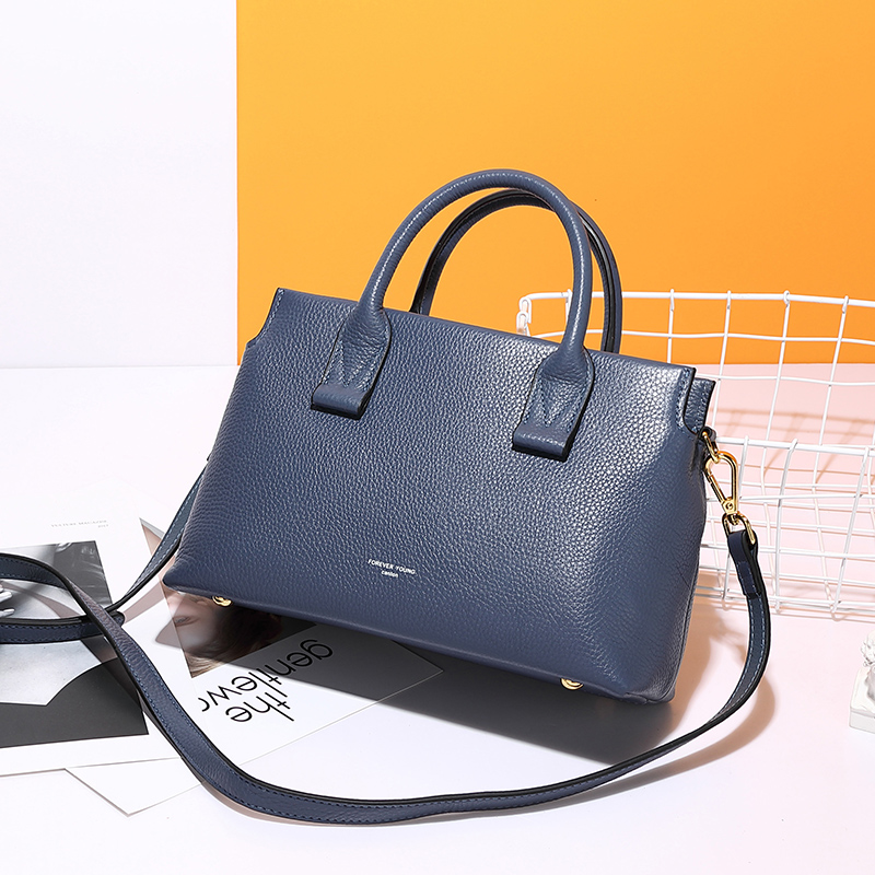 Leather Shoulder Bags Genuine Leather Handbags Women All products shoes bags Shoulder Bag color: Black|blue|red