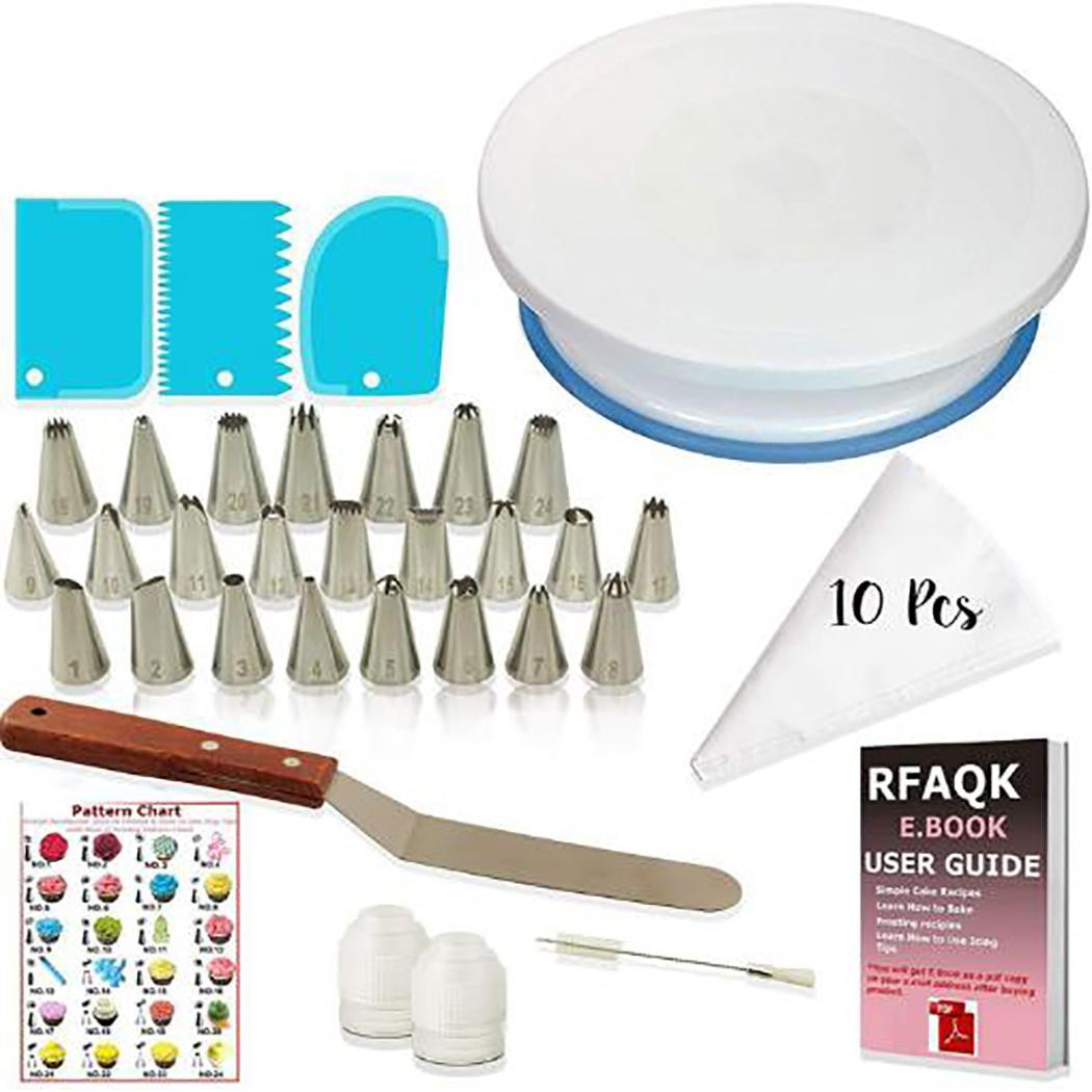 Cake Decorating Supplies Kit Fondant Tool tools, baking supplies Kitchen Dessert Baking Pastry Supplies