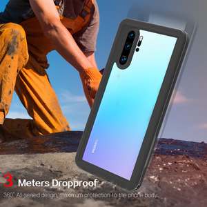 Image 4 - P30 Pro Waterdichte Case Voor Huawei P20 Pro Case IP68 Waterdichte Volledige Cover Voor Huawei P30 P20 Lite Mate 20 pro Duiken Coque