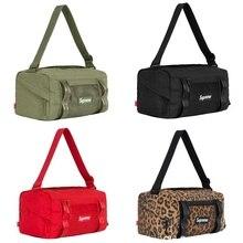 New Supreme 21FW Mini Duffle Handbag, Shoulder Travel Bag, Small Bucket Bag