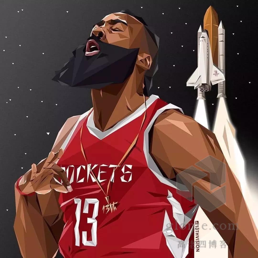 NBA 超巨哈登超清壁纸、逗逼表情包分享[164P]的图片-高老四博客 第6张