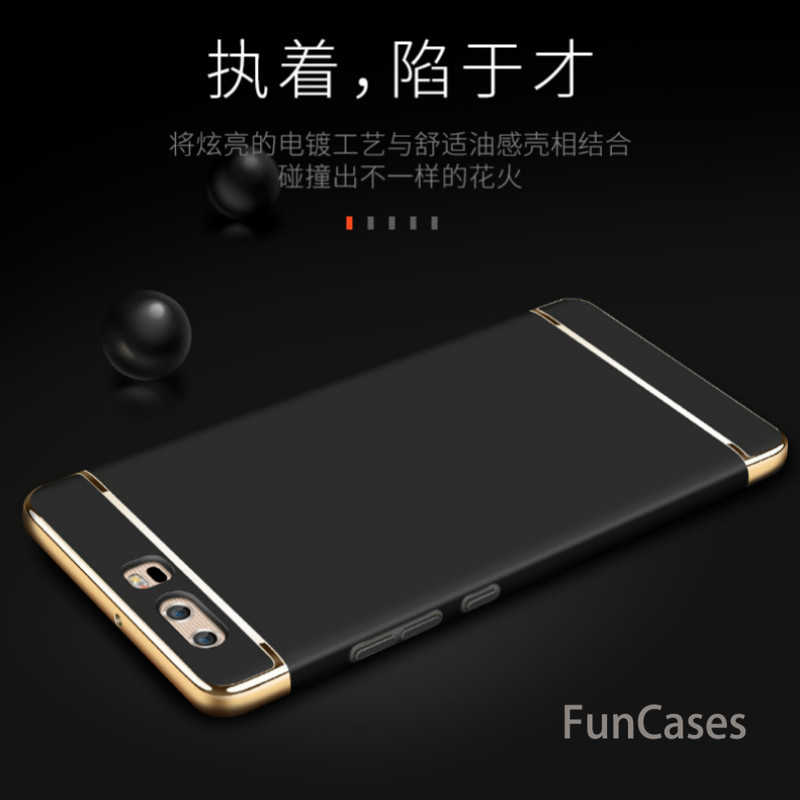 Luxury 3 in 1 Phone Case For Huawei P20 Pro P10 P9 Lite P8 Lite 2017 P Smart P10 Plus For Mate 10 9 8 Lite Y9 2018 Coque Shell