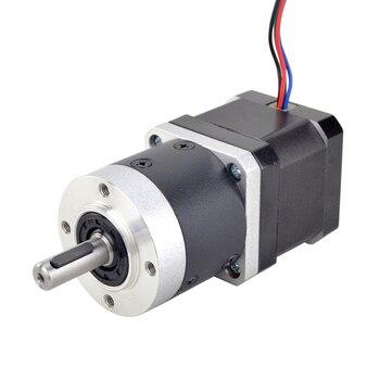 10:1 High Precision Planetary Gearbox Nema 17 Stepper Motor Dual Shaft L=39mm 4-lead 42 Motor 1.68A Extruder Gear Motor