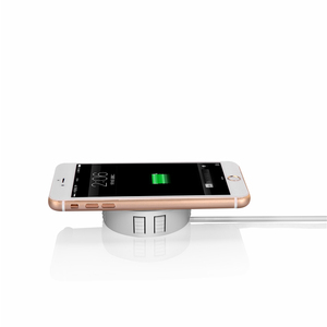 Image 4 - Invisible Fast QI Wireless Charger For iPhone 11 Samsung Hidden Embedded Adsorption Suspension Wireless Charging Pad For Xiaomi
