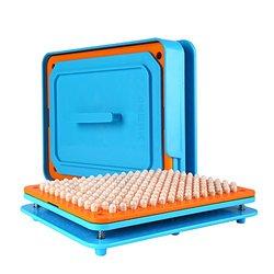 200 loch ABS Kunststoff 0 # Kapsel Füllung Platte Füllung Maschine Manuelle Kapsel Medizin Kapsel Produktion