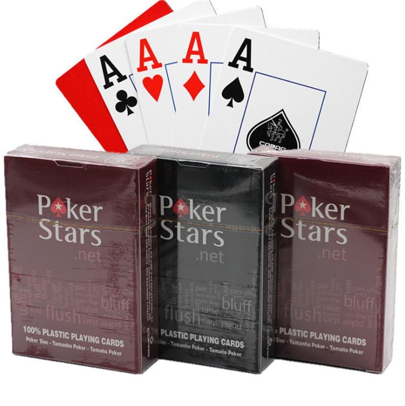 1 компл. Игральные карты пластиковые игральные карты водонепроницаемые игральные карты тусклый полированный покер для помещений Семейные ...
