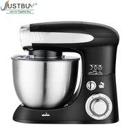 4L 6 speed Kitchen Electric Food Stand Mixer Whisk Blender Cake Dough Bread Mixer Maker Machine