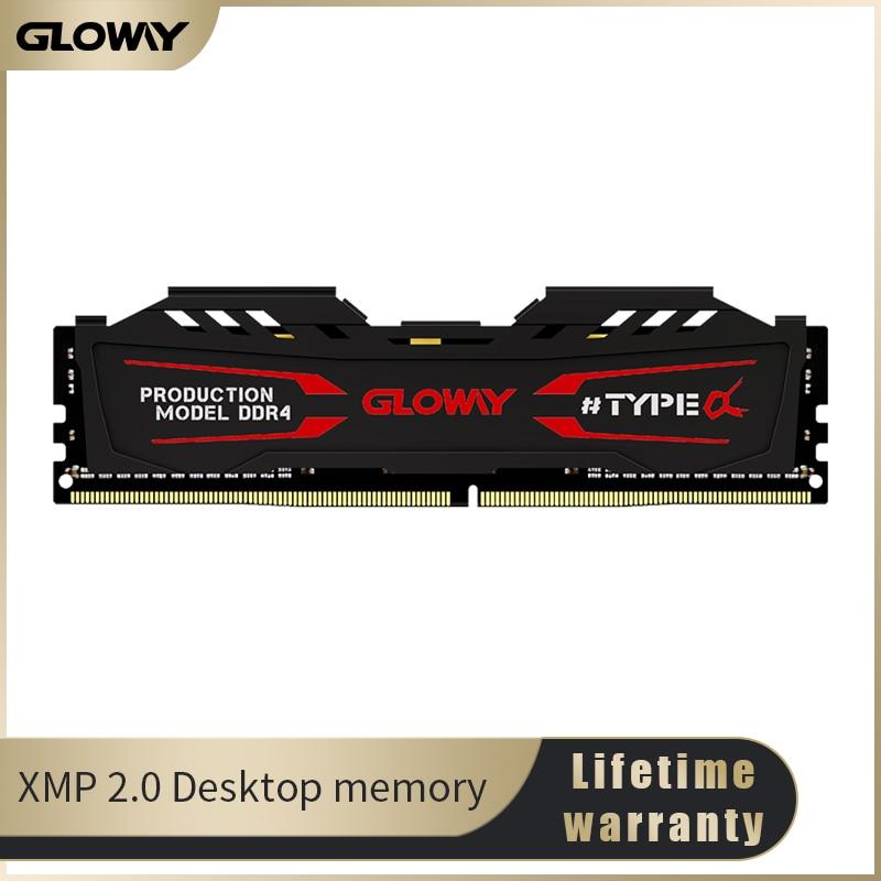 Gloway  Ram Ddr4  8GB  16GB Memory 3000MHz 1.35V Desktop Dimm High Performance Factory Price