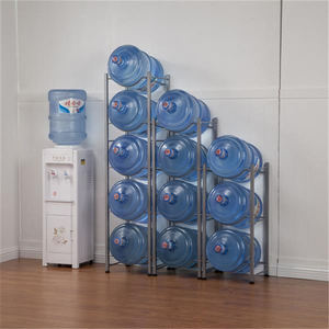 3/4/5 стойка для воды в шинах из нержавеющей стали, кухонные сверхмощные кувшин для охладителя воды, стеллажи для хранения