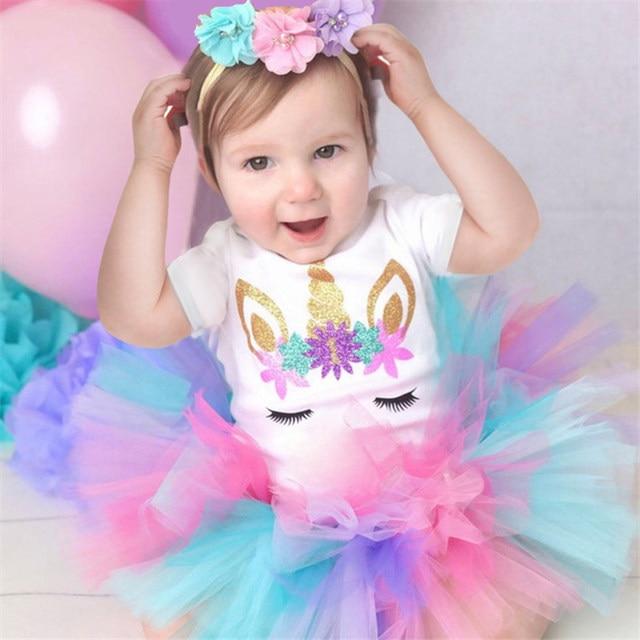 Vestido tutú de 1 año de cumpleaños para niñas pequeñas, vestidos de bautizo para fiestas de cumpleaños para niñas de 12 meses