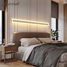 Новый дизайн светодиодный ная настенная лампа, лампа для спальни, настенная лампа для украшения интерьера дома, освещение для коридора, нас...