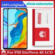 10ชิ้น/ล็อตฟรีDHL 6.15 จอแสดงผลกรอบสำหรับHuawei P30 Lite Nova 4e LCD Touch Screen Digitizer MAR LX1 LX2 AL01