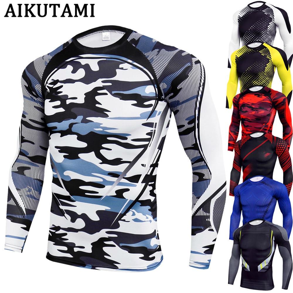 Long Sleeve Mma Shirt Rashguard Muay Thai Jersey Elastic King Boxing Compression Muaythai T Shirt Fitness Camiseta Boxeo Martial