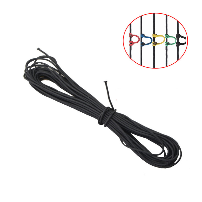 3m D Ring Archery Loop Rope Bowstring Loop Compound Bow String Release Nock Loop Accessory 3 Meter
