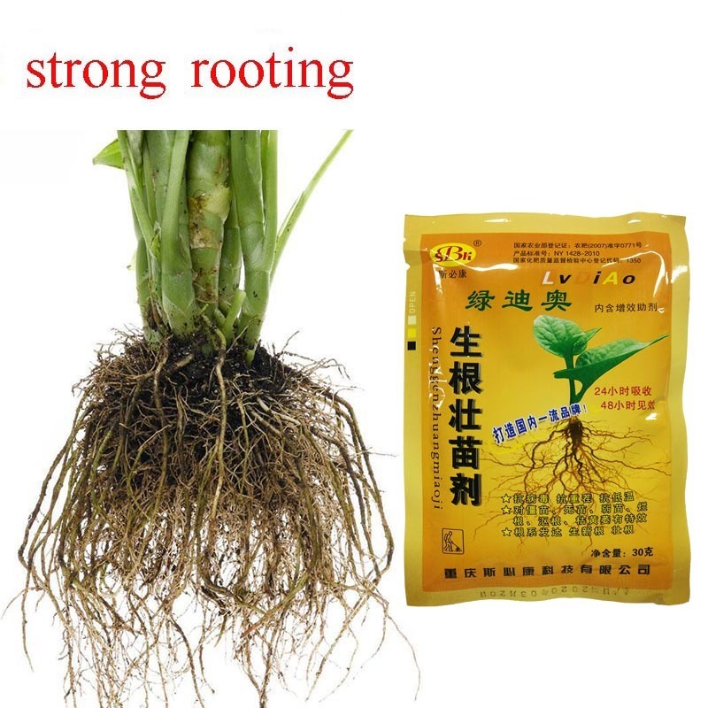 30g 1 Pack Rooting and Strong Seedling Agent To Improve The Survival Rate of Cuttage Transplanting Flowers and Plants