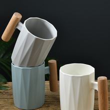 Toothbrush Cup Mouthwash-Cup Plastic Household of with Exquisite Workmanship Wooden-Handle