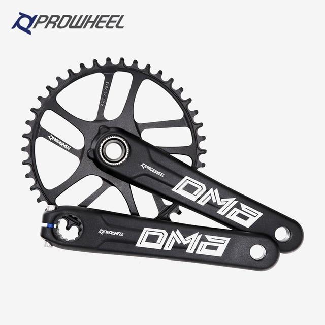 PROWHEEL Road Bike Crankset 9-12S 40-50T GXP BB 170//172.5mm Sprocket Crank BLK