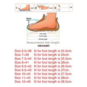 Image 5 - DEKABR Mới Nam Nam Da Thật Chính Hãng Giày Sandal Nam Mùa Hè Nhân Quả Giày Đi Biển cho Người Đàn Ông Thời Trang Ngoài Trời Đế Mềm