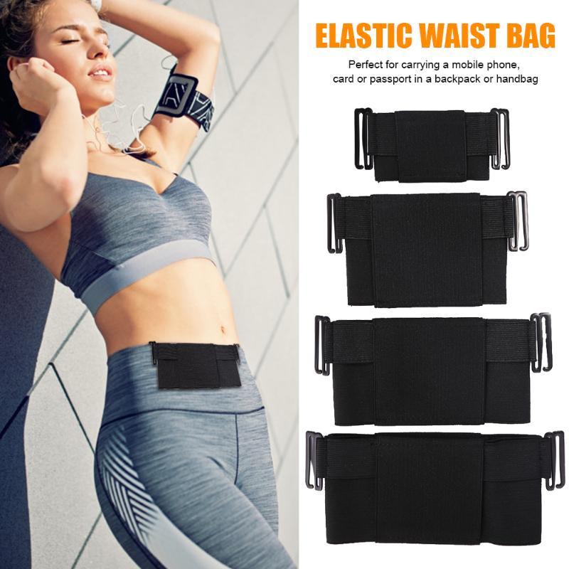 Minimalist Invisible Wallet Waist Bag Mini Pouch For Business ID Card Holder Money Belt Wallet Waist Bag Men Women Fanny Purse