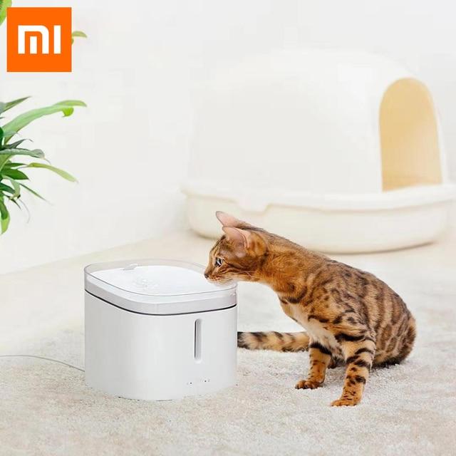 Xiaomi Xiaowan לחיות מחמד מתקן מים כלב חתול חשמלי שתיית קערת מזרקת אוטומטי חתול מים חיים 2L להתחבר חכם MIJIA APP