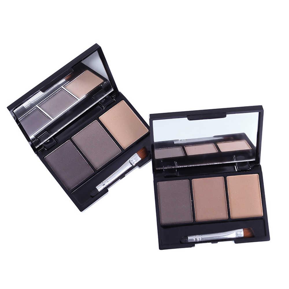 Новый бровей Палетка теней для век стойкий для бровей карандаш растушевки теней Кисть для макияжа, бровей Водонепроницаемый корейский макияж CosmeticTSLM1