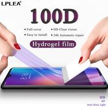 100D Screen Protector Hydrogel Film For Xiaomi mi 9 se 8 Lite Protective Film For Xiaomi 9T Pro A1 A2 A3 CC9E CC9 Not Glass