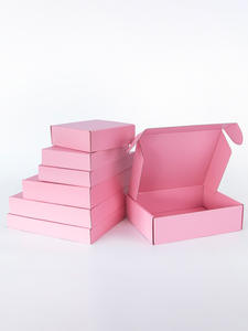 Gift-Box Storage-Display Corrugated Box Logo Carton-Supports Customized Party Size-Printing