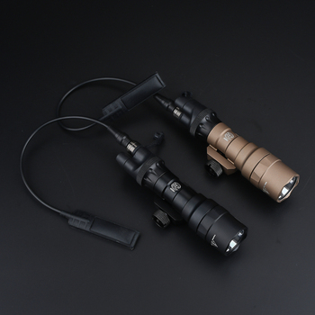 WADSN Tactical Flashlight M300 SF with SL07 Scout Dual Switch Softair Torches 950 Lumen High output Hunting Pistol Weapon Lights