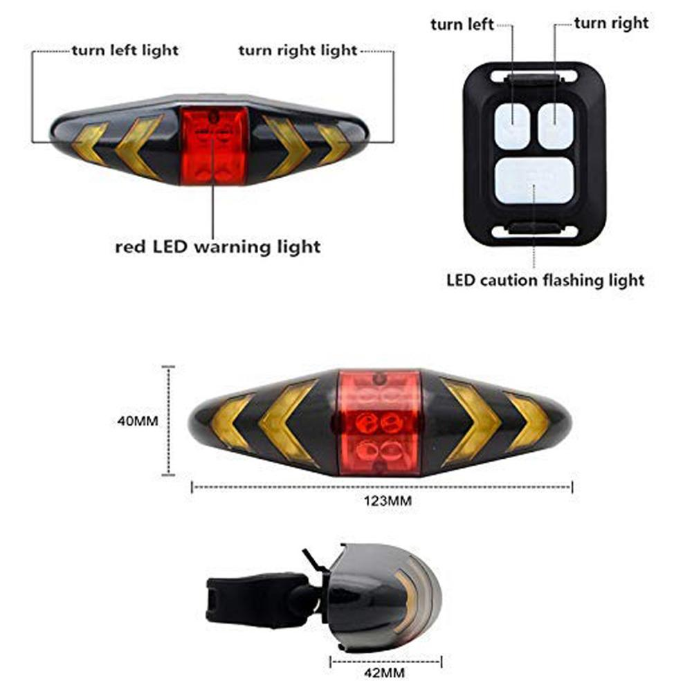 5//9 LED Bicycle Waterproof Shockproof Taillight Adjustable Light For Cycling Hot