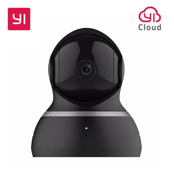 YI Dome Kamera 1080P Pan/Tilt/Zoom Wireless IP Security Surveillance System Komplette 360 Grad Abdeckung Nacht vision Schwarz