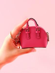 Image 5 - Milesi moda çanta kolye kadın anahtarlık bayan çanta aksesuarları sevimli minyatür çanta akıllı bebek mp373