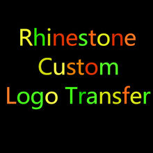 Logo Transfer Hot-Fix Rhinestones Custom Rhinestone Motif Garment Iron-On Strass Transfer Diy T-Shirt Decorative Accessories