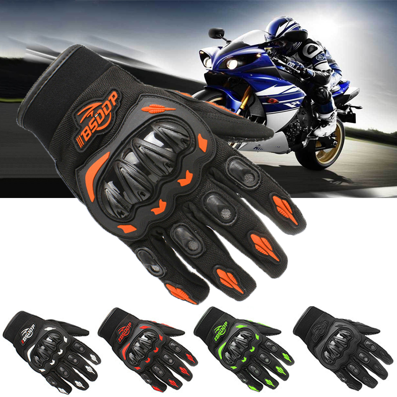 Motorcycle Gloves Full Finger Racing Gloves Outdoor Sports Protection Electric Bicycle Riding Cross Dirt Bike Gloves Motocross