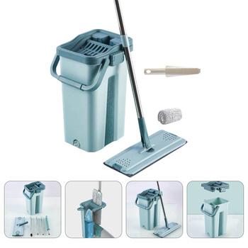 1 zestaw Mop wiadro do czyszczenia Mop z mikrofibry wiadro nie do mycia Mop Mop do kurzu tanie i dobre opinie CN (pochodzenie) Mop Bucket Cleaning Mop Set Microfiber Mop Bucket Non-wash Mop Dust Mop