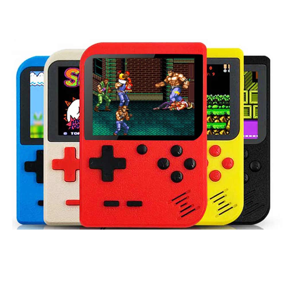 ใหม่ Edition Retro เกมคอนโซลเครื่องเล่นเกมพกพาแบบพกพา Built-In 400 เกมสนับสนุน 2 8 บิต 3.0 นิ้ว LCD Gameboy