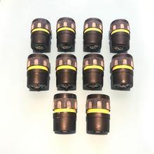 10 قطعة ميكروفون خرطوشة ل ميكروفون لاسلكي شور BETA58 UC SLX 2 SLX4 كبسولة 58A 58 هيئة التصنيع العسكري قطع الغيار