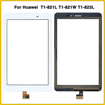 New TouchScreen For Huawei MediaPad T1 8.0 Pro 4G T1-821L T1-821W T1-823L Touch Screen Panel Digitizer Sensor front Glass Lens image