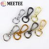 5pcs Meetee Metal Swivel Trigger Lobster Clasp Snap Hook Buckles for Key Chain Ring DIY Outdoor Backpack Bag Parts Accessories